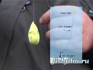 Рыбалка по системе «Положи и возьми»